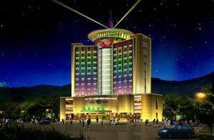 绿岛大酒店-酒店照明工程设计